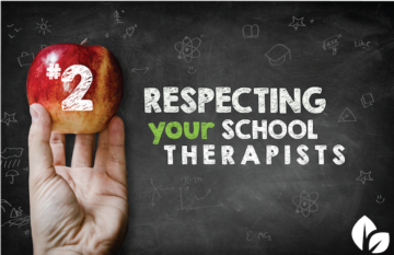 Communicating Respect for School Therapists